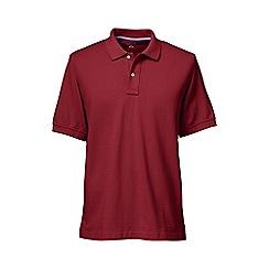 Lands' End - Red short sleeve original pique polo shirt