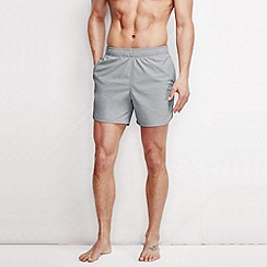 Lands' End - Grey men's performance shake dry trunks
