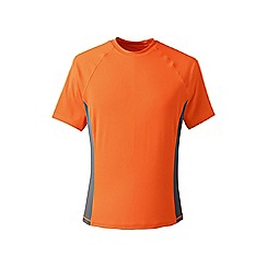 Lands' End - Orange short sleeve swim tee