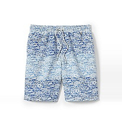 Lands' End - Blue print volley shorts