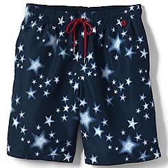 Lands' End - Blue print volley shorts