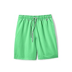Lands' End - Green swim shorts
