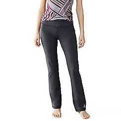 Lands' End - Grey women's control bootcut workout pants