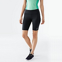 Lands' End - Black women's performance control shorts