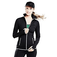 Lands' End - Black women's workout jacket