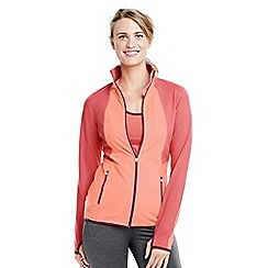 Lands' End - Orange women's workout jacket