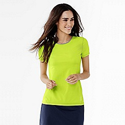 Lands' End - Green women's workout tee