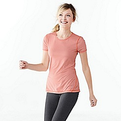 Lands' End - Orange women's print workout tee