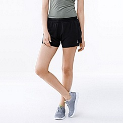 Lands' End - Black women's performance woven shorts