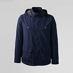 Lands' End - Blue men's storm raker jacket