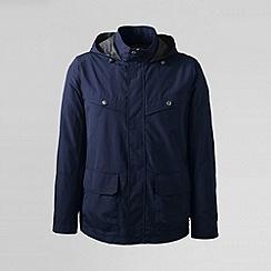 Lands' End - Blue men's storm raker jacket