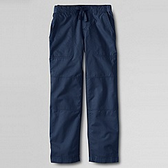 Lands' End - Blue little boys' iron knee beach trousers