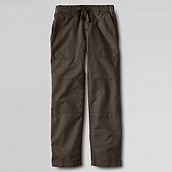 Lands' End - Brown little boys' iron knee beach trousers