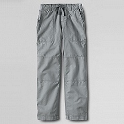 Lands' End - Grey boys' iron knee beach trousers