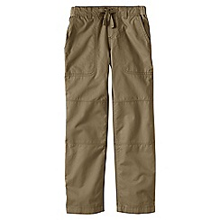 Lands' End - Beige boys' iron knee beach trousers