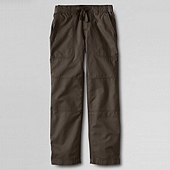 Lands' End - Brown boys' iron knee beach trousers