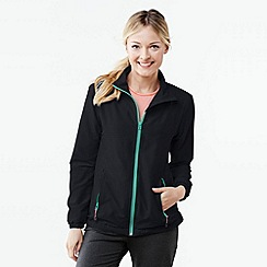Lands' End - Black women's woven running jacket
