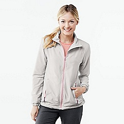 Lands' End - Grey women's woven running jacket