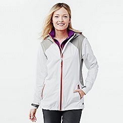 Lands' End - White women's 2.5 layer sailing jacket