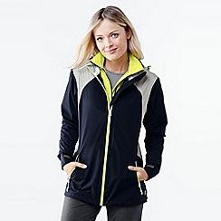 Lands' End - Blue women's 2.5 layer sailing jacket
