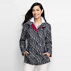 Lands' End - Multi women's patterned storm raker jacket