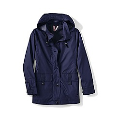 Lands' End - Blue storm raker jacket