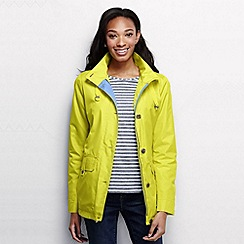 Lands' End - Yellow women's storm raker jacket