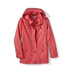 Lands' End - Orange storm raker jacket