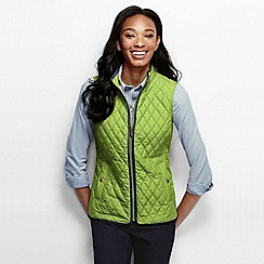 Lands' End - Green women's quilted primaloft gilet
