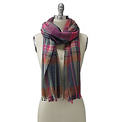 Lands' End - Red women's lochcarron tartan scarf