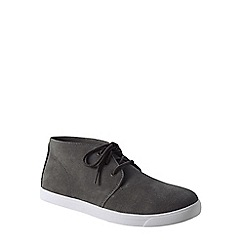 Lands' End - Grey men's classic suede chukka boots