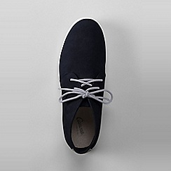 Lands' End - Blue classic suede chukka boots
