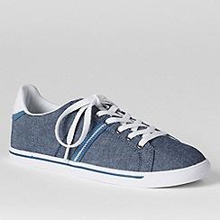 Lands' End - Blue women's casual sneakers