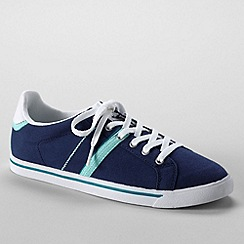 Lands' End - Blue women's casual sneakers