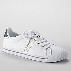 Lands' End - White women's casual sneakers