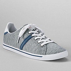 Lands' End - Grey women's casual sneakers