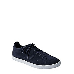 Lands' End - Blue men's classic lace-up trainers