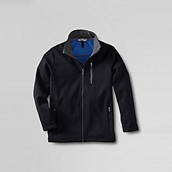 Lands' End - Black boys' soft shell jacket