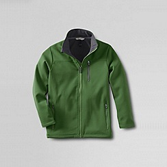 Lands' End - Green boys' soft shell jacket