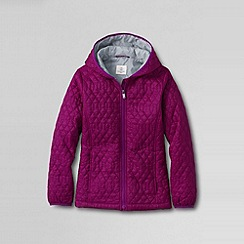 Lands' End - Purple little girls' lightweight jacket