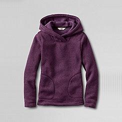 Lands' End - Purple girls' fleece hoodie