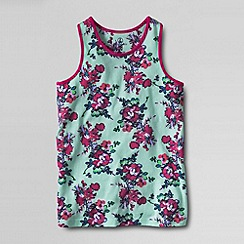 Lands' End - Multi girls' pattern racerback tank top