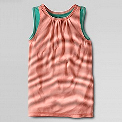 Lands' End - Orange little girls' performance vest