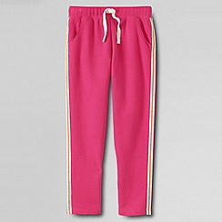Lands' End - Pink little girls' jogging bottoms