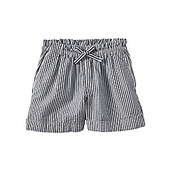 Lands' End - Blue pull-on seersucker shorts
