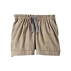 Lands' End - Green pull-on cotton shorts