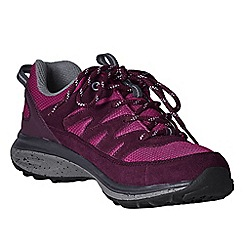 Lands' End - Purple women's wide trekker shoes