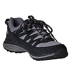 Lands' End - Black women's wide trekker shoes