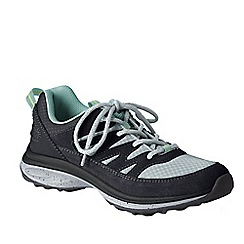 Lands' End - Grey women's wide trekker shoes