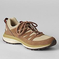 Lands' End - Brown women's wide trekker shoes